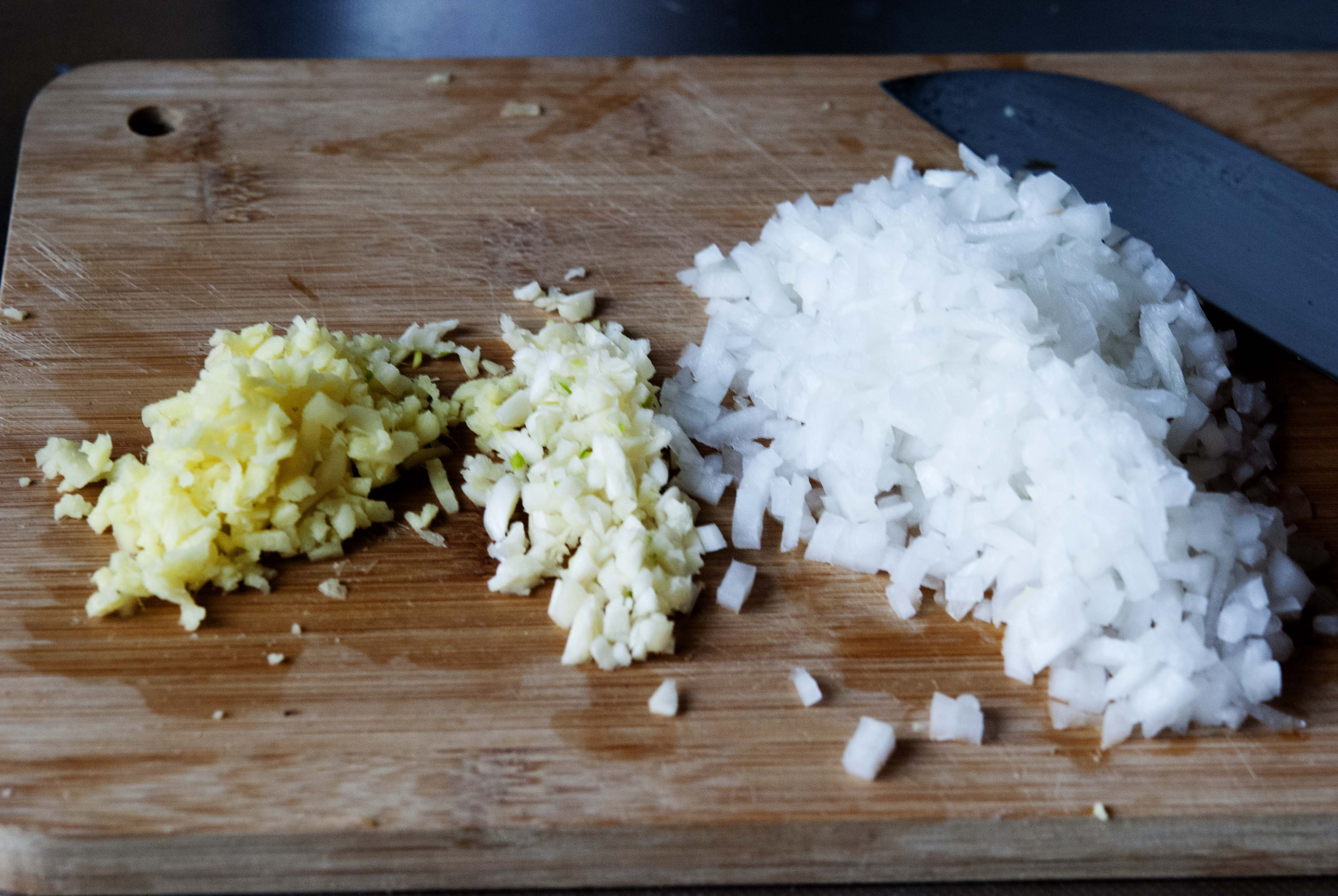 Curry chicken with coconut rice, expatcucina10