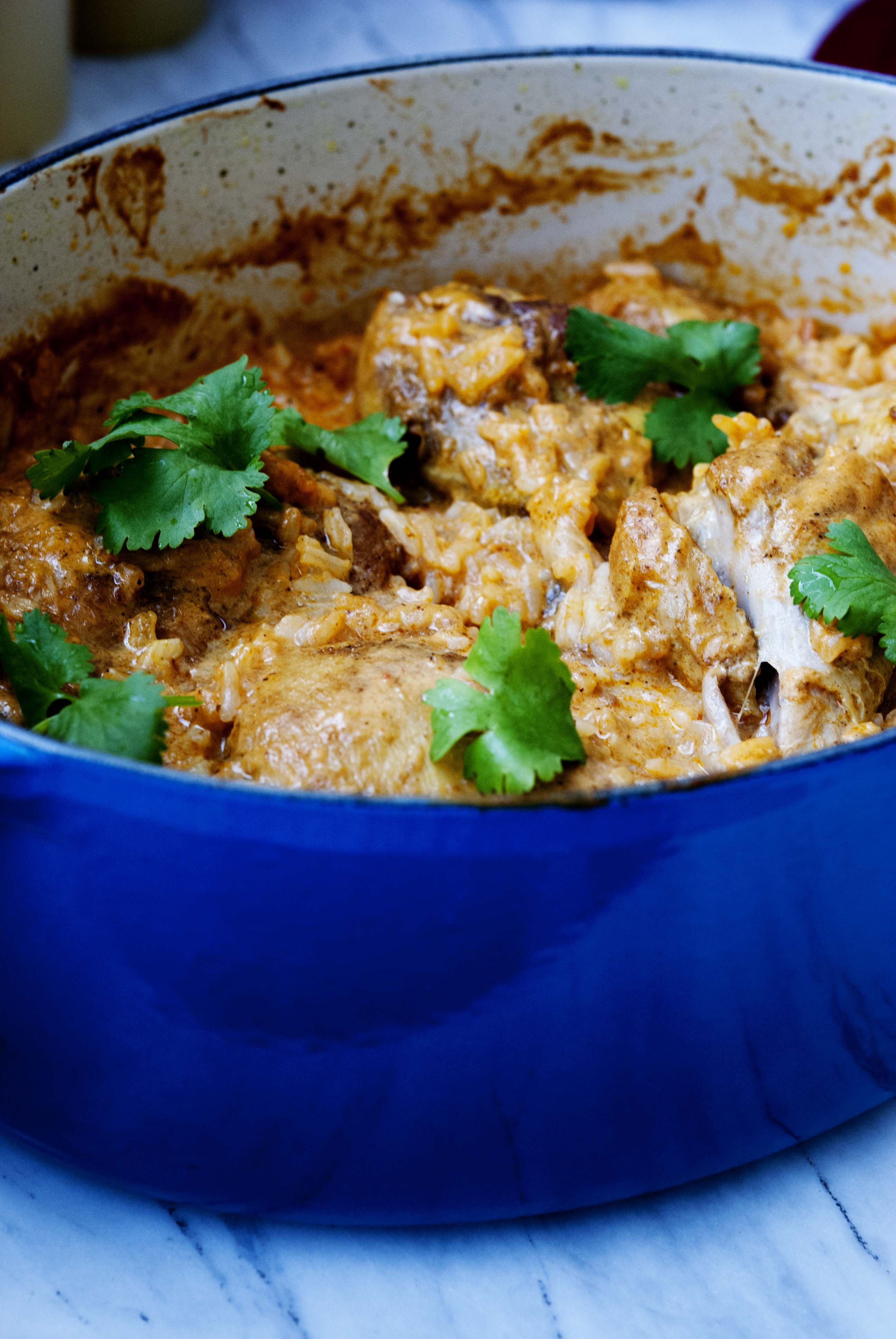 Curry chicken with coconut rice, expatcucina2